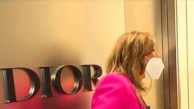 Paz Padilla la lía en la tienda de Dior