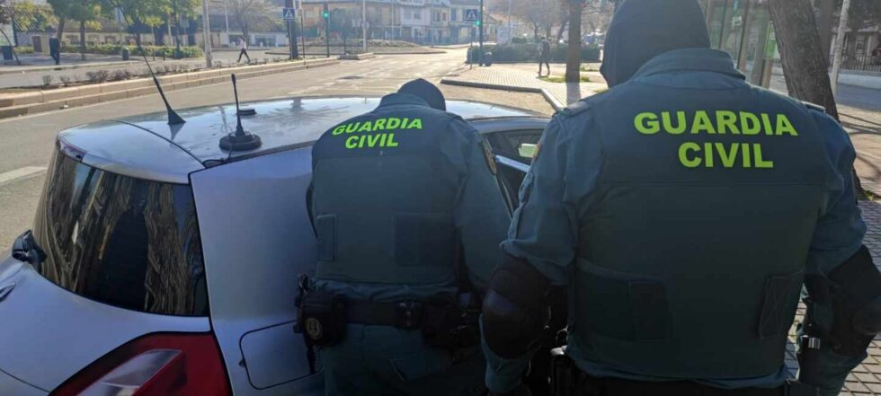 Efectivos de la Guardia Civil intervienen en la 'Operación MOPA'