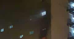 Incendio en una planta destinada a pacientes Covid-19 del Hospital Puerta del Mar en Cádiz.