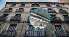 Imagen edificio Montano con un detalle del estado de su interior