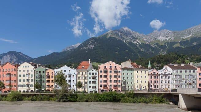 Innsbruck, capital del Tirol austriaco.