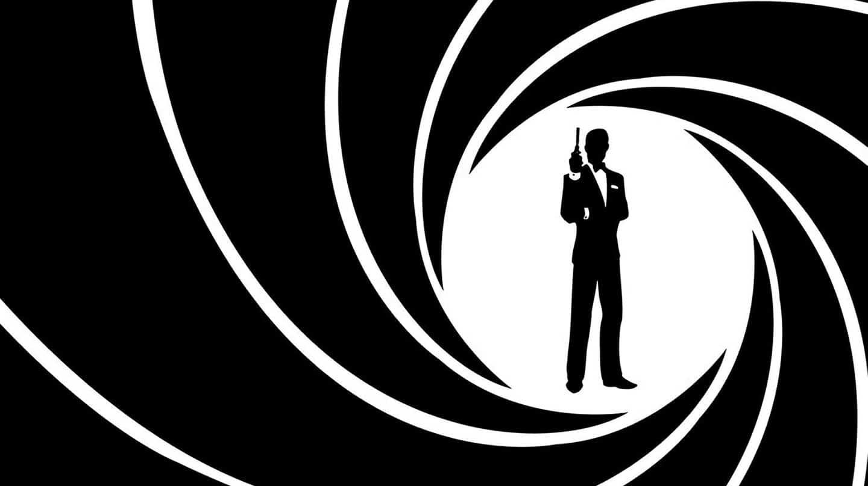 Imagen de ilustración de cartel de James Bond agente 007