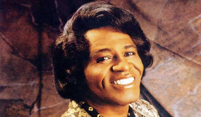 El cantante de Soul James Brown.