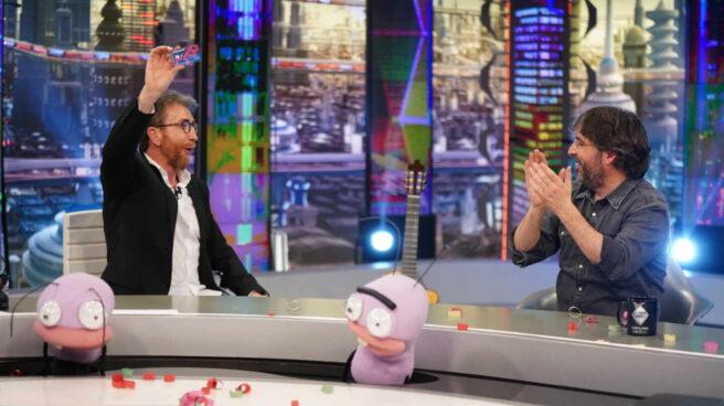 Jordi Évole, durante su entrevista en 'El Hormiguero'.