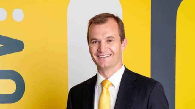 Meinrad Spenger, CEO de MásMóvil en una foto oficial de la compañía