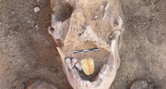 Descubren una momia con la lengua de oro en la búsqueda de Cleopatra