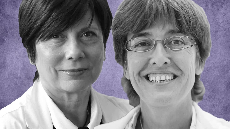 Eva Salvo, directora gerente del Hospital La Fe y Carmen Martínez de Pancorbo, directora gerente del Hospital 12 de octubre.