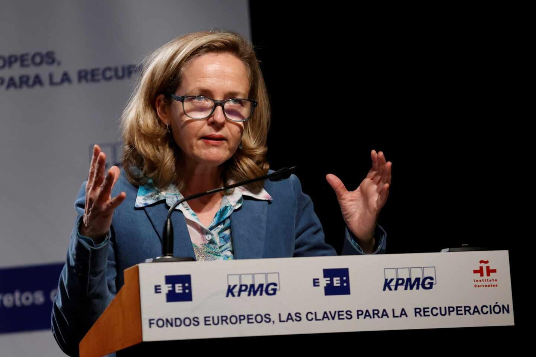 Nadia Calviño, ministra de Asuntos Económicos y Transformación Digital.