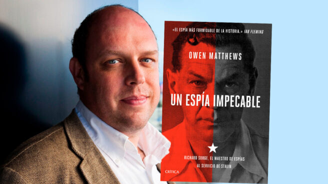 Imagen de Owen Matthews, autor del libro Un Espía Impecable