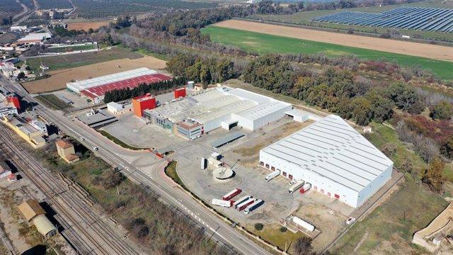 Fábrica que acogerá la producción de Pastas Gallo en Córdoba.