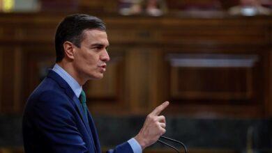 """Sánchez aconseja a Podemos que """"baje los decibelos"""" en las luchas dentro del Gobierno"""
