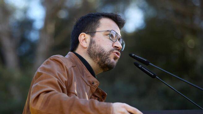 El candidato de ERC a la Generalitat, Pere Aragonès.