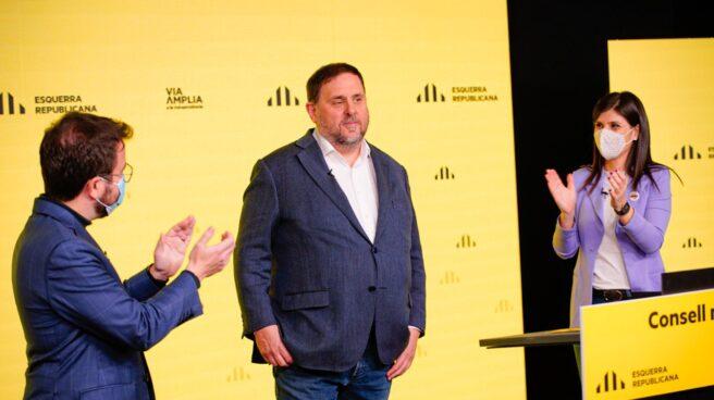 Pere Aragonés y Oriol Junqueras