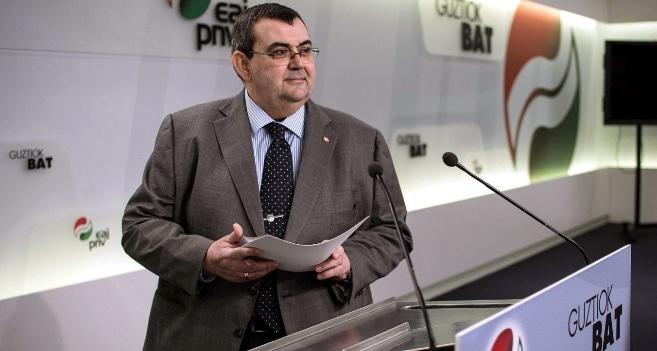 El responsable de Política Institucional del PNV, Koldo Mediavilla