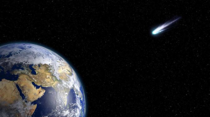 Una nueva teoría apunta a que un cometa acabó con los dinosaurios, no un asteroide