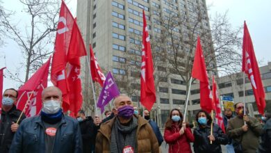 """Álvarez (UGT): """"O hay movimiento por parte del Gobierno o las movilizaciones solo han hecho que empezar"""""""