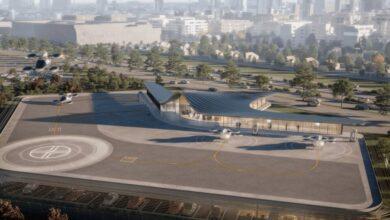 Ferrovial plantea un proyecto de taxis voladores vinculado a los fondos europeos
