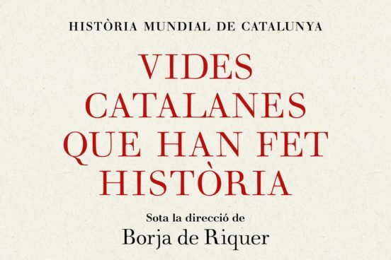 Portada del libro Vides catalanes que han fet història
