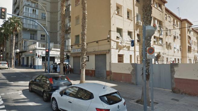 Viviendas del barrio Miguel Hernández, en Alicante.