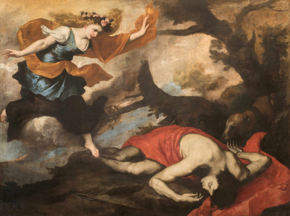 Venus y Adonis, José de Ribera