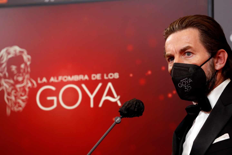 El actor Antonio de la Torre a su llegada hoy Sábado a la gala de la 35 edición de los Premios Goya