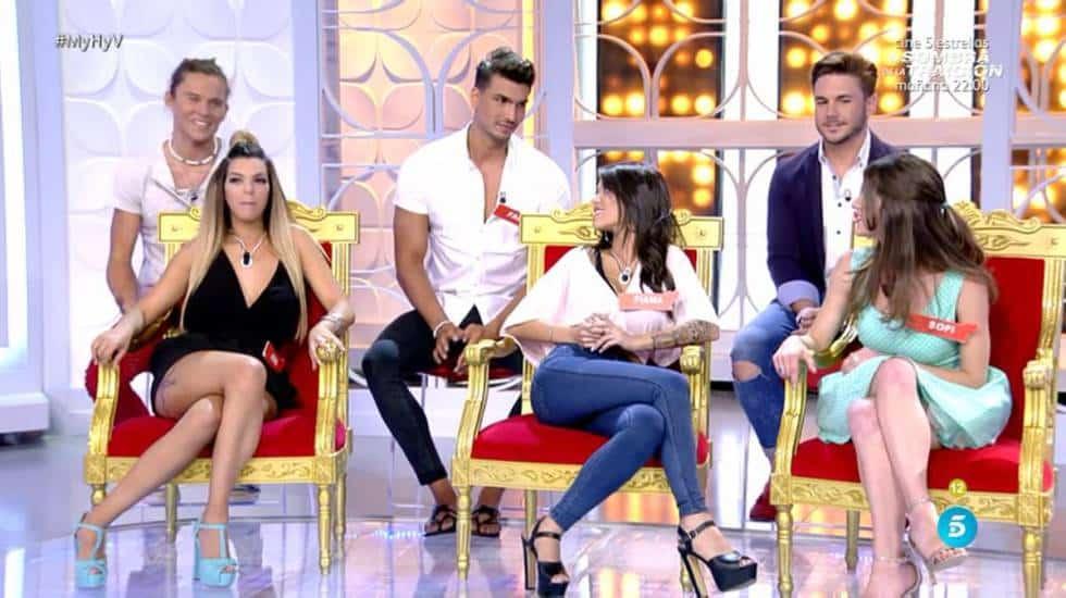 Imagen del programa 'Mujeres y hombres y viceversa', uno de los buques insignia de Mediaset.
