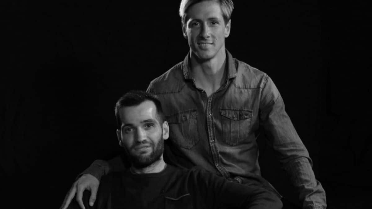 Carlos Matallanas con Fernando Torres