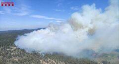 Un incendio forestal en  Tarragona pone en alerta a 30 dotaciones de Bomberos