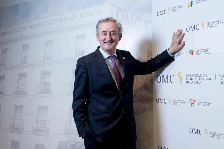 Tomás Cobo, presidente de la Organización Médica Colegial.