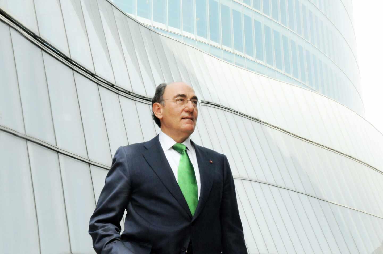 Ignacio Sánchez Galán, presidente de Iberdrola en la sede de la compañía