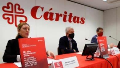 Una de cada tres personas que acudió a Cáritas en la pandemia lo hizo por primera vez