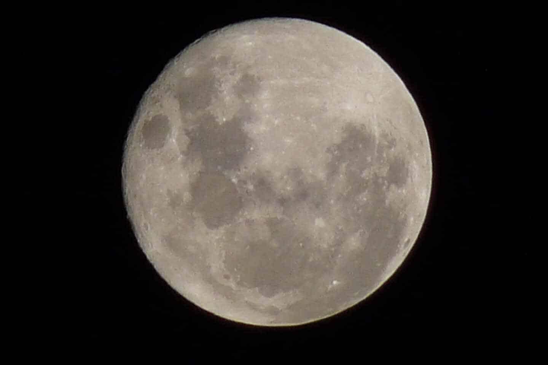 Imagen de la Luna.