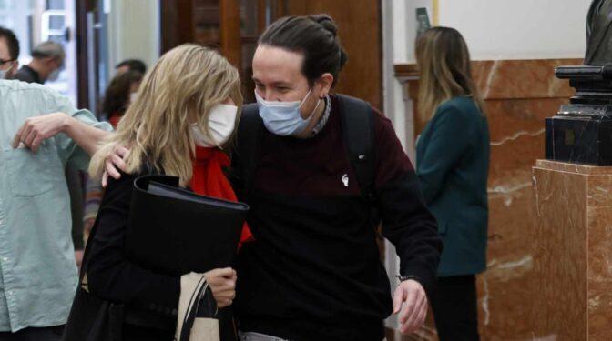 """Díaz """"planta"""" el estreno de Iglesias como presidente de la Fundación de Podemos"""