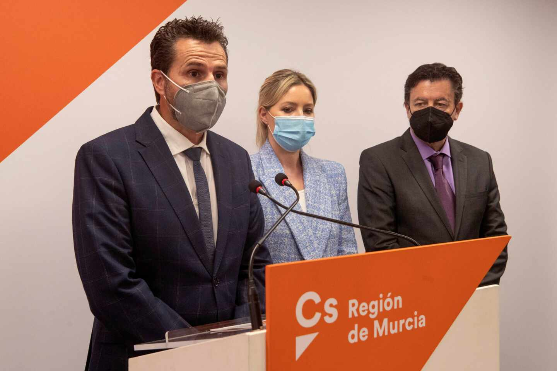 La coordinadora de Ciudadanos en la Región de Murcia y candidata a presidir la Comunidad de Murcia Ana Martinez Vidal