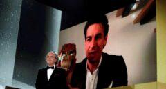 Mario Casas recibe el Goya a Mejor actor protagonista por 'No matarás'