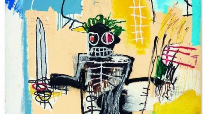 El 'Guerrero' de Basquiat se convierte en la obra más cara subastada en Asia