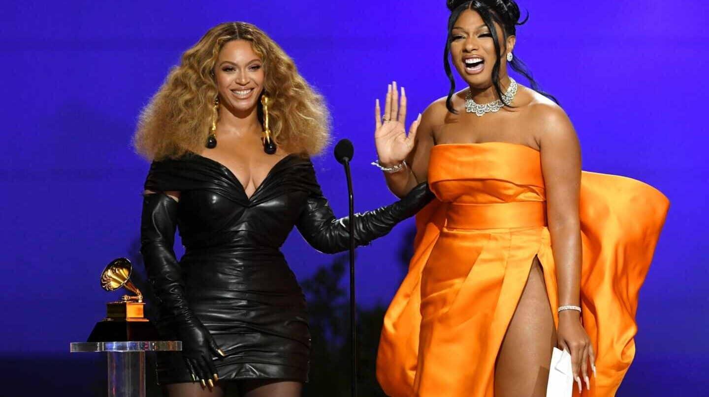 Beyoncé y Megan Thee Stallion han sido las grandes galardonadas de la 63ª edición de los Grammy.
