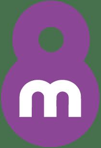 Logo morado por el día Internacional de la mujer
