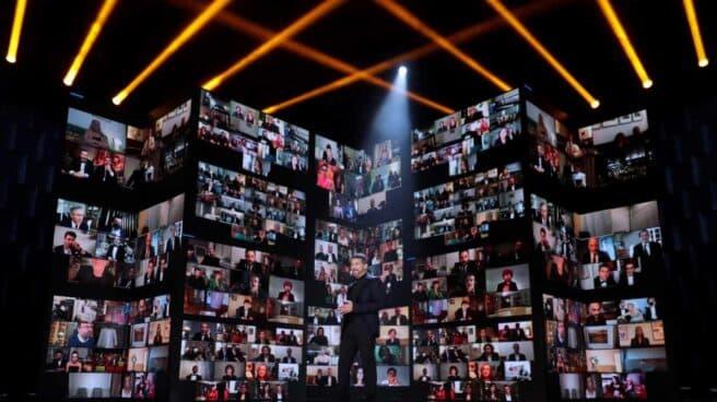 El actor Antonio Banderas en la gala de la 35 edición de los Premios Goya