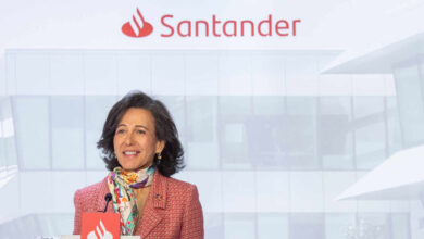 Banco Santander recuperará el dividendo de al menos el 40% del beneficio cuando el BCE lo permita
