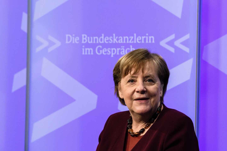 La canciller federal, Angela Merkel, en una intervención reciente