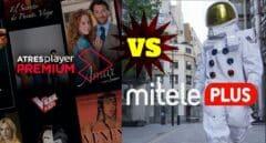 La guerra entre Mediaset y Atresmedia por el negocio de las plataformas digitales