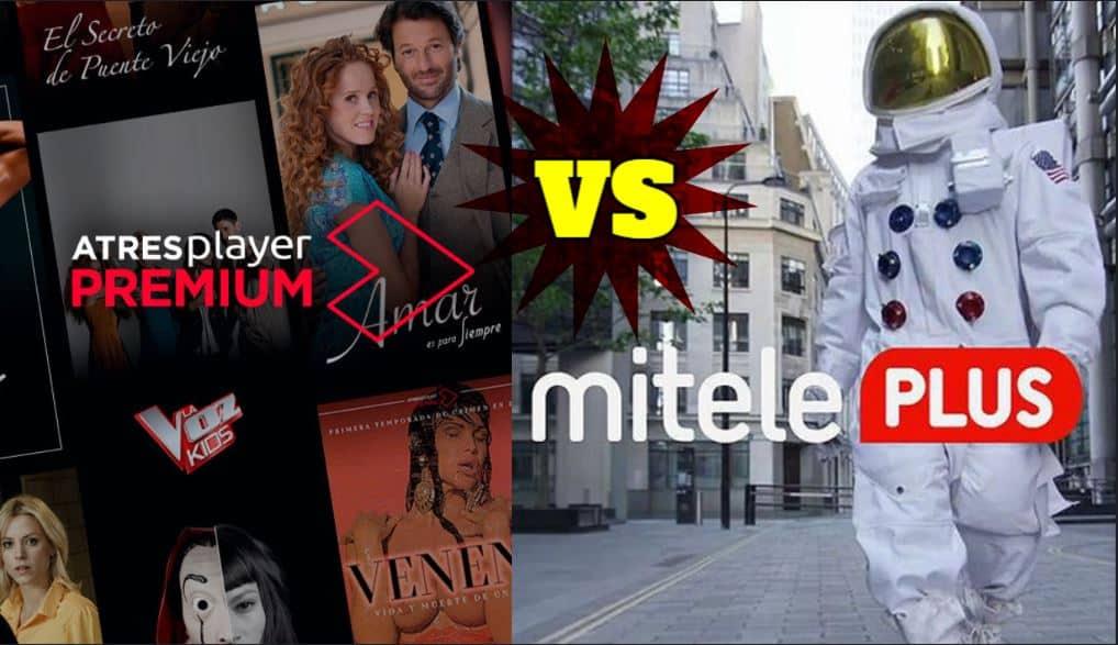 Atresplayer Premium VS Miteleplus