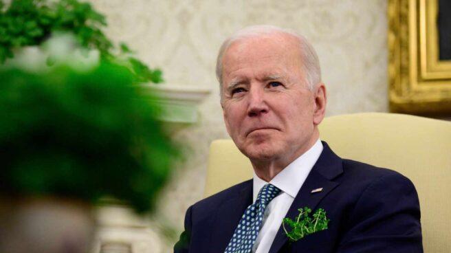 Joe Biden, presidente de Estados Unidos, en el Despacho Oval