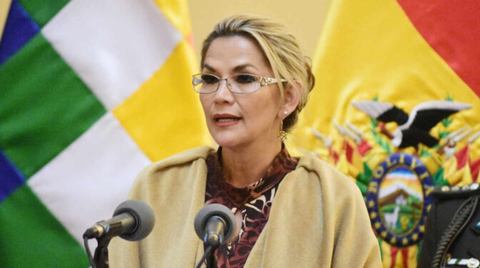 Detenida en Bolivia la ex presidenta Añez acusada de sedición y terrorismo