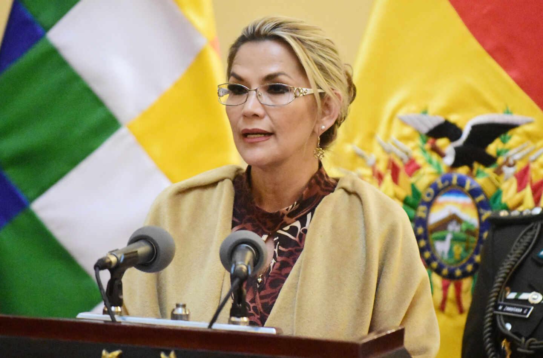 Jeanine Añez, ex presidenta de Bolivia