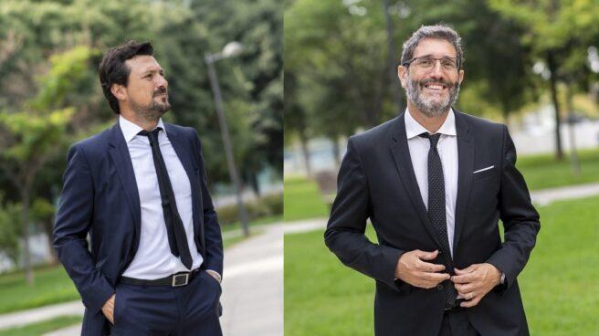 El director de operaciones de Govertis, Óscar Bou y el CEO, Eduard Chaveli