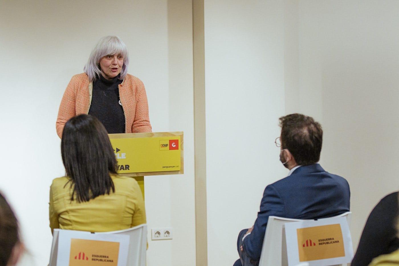 Dolors Sabater desgrana las exigencias de la CUP ante Pere Aragonés