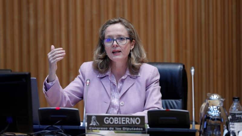 La vicepresidenta tercera, Nadia Calviño