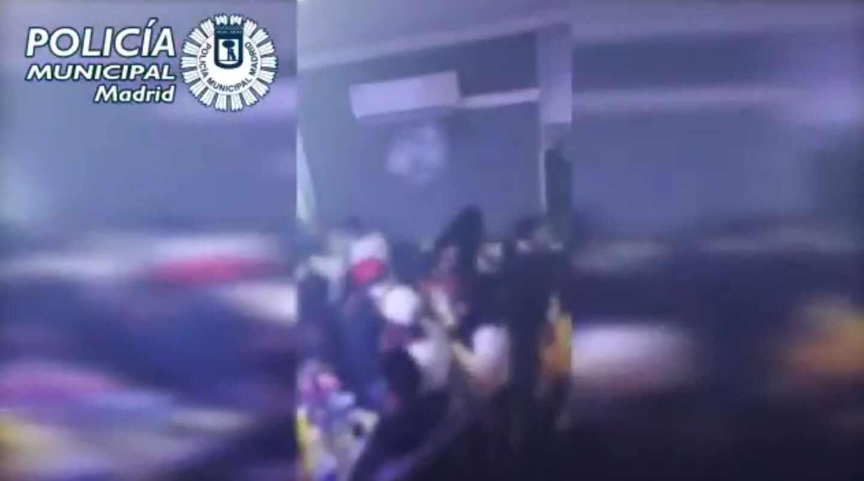 Fin de semana de récord de fiestas ilegales en Madrid.